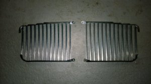 Radiator grille for DAIMLER Série 2  Right and Left side