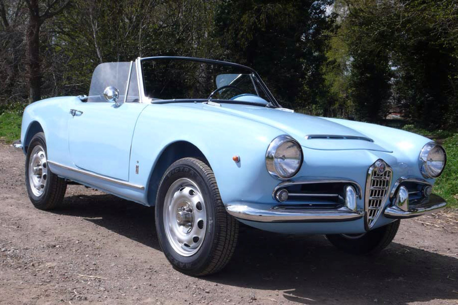 for sale alfa romeo giulia spider 1600 marseille. Black Bedroom Furniture Sets. Home Design Ideas